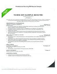 Top Rated Rn Resume Template Free Nursing Resume Templates New Nurse ...