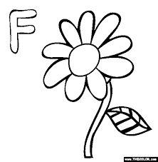 Small Picture Letter F Coloring Pages All Coloring Pages