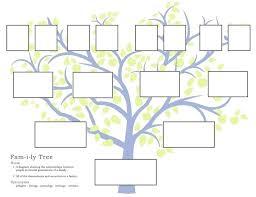 Genealogy Form Templates Free Printable Family Tree Template Blank With 3 Genealogy Form