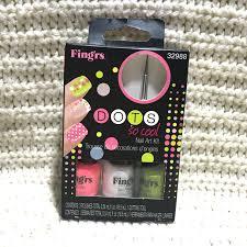 fing rs 32988 dots nail art kit set of