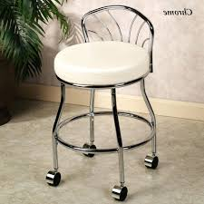 vanity stools bathroom home decoration awesome stool for modern vanities in  white regarding