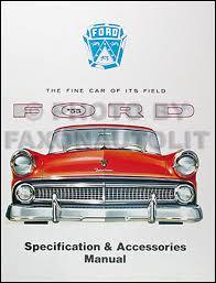 1955 ford car & thunderbird wiring diagram manual reprint Jazzmaster Guitar Wiring Diagram at 53 Ford Custom Line Genrator Wiring Diagram