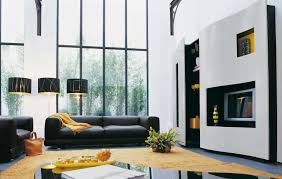 Black White And Yellow Living Room Black White And Yellow Living ...