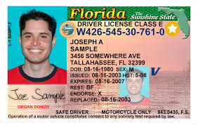 And Id License Driver Florida Card ERqTvcW