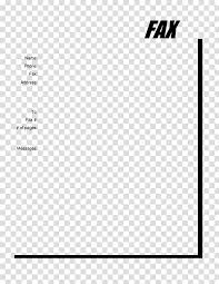 Template Fax Microsoft Word Document Pdf Sheets Transparent