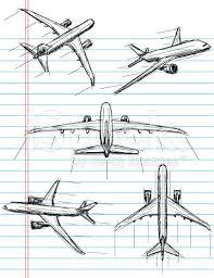 Airplane Drawing Airplane Sketch Illustration Google Search Skin Decor