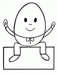 635x800 humpty dumpty coloring page
