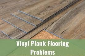vinyl plank flooring problems during