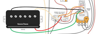 critique my wiring diagram round  this is a two switch scheme to control a p rail pickup but unlike the triple shot system it separates coil selection from series parallel switching so the