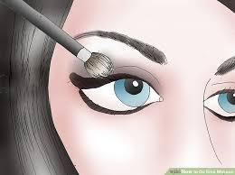 image led do emo makeup step 6