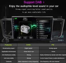 10.2 Inch Big Touch Screen Car Radio Stereo Multimedia For Toyota ...