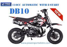 tao db10 110cc automatic cheap dirt bike pit bike powersports