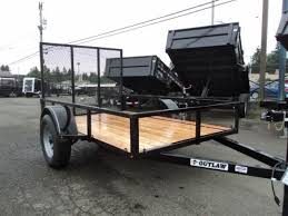 inventory olympic trailer pj and cargo mate flatbed and cargo 2017 outlaw conversions 5x8 utility trailer