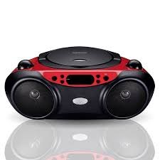 Blackweb Bluetooth CD Player with FM Radio, Red and Black - Walmart.com