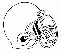 Nfl Helmet Coloring Pages Coloringstar