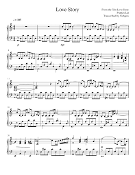The song has a length of 2:50 seconds and is considered part of the pop music genre. Love Story Sheet Music For Piano Solo Musescore Com