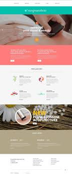 Acupuncture Web Design Acupuncture Clinic Website Template Brand Website