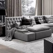 italian furniture manufacturers. The Domino Capitonne Sofa. Frigerio Have Carved Out Their Own Brand Of Casual Luxury With Italian Furniture Manufacturers