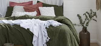 luxury linen bedding duvet covers nz and cushions
