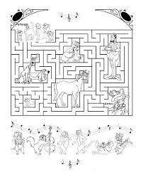 Labirinto Da Stampare Per Bambini Con Gli Aristogatti