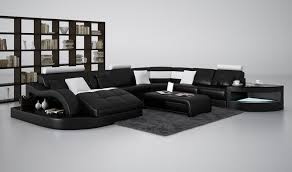 black modern couches. Black Sectional Sofa Modern Couches