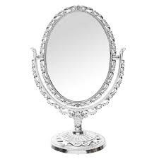 11 039 039 antique oval makeup shave mirror