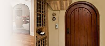 interior house doors. solid wood interior wine cellar doors, custom and stock house doors