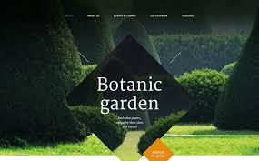 Landscape Design Web Template Beauteous Garden Web Design Design