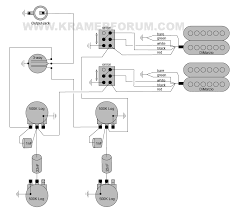 kramer wiring diagrams welcome to the kramer forum 1980 xl5 dimarzio paf neck humbucker dimarzio dual sound bridge humbucker 3 way phase switch coil tap 2 vol