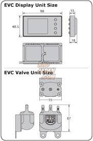 hks evc 6 ir 2 4 boost controller rhdjapan HKS EVC Internal Wastegate at Hks Evc 5 Wiring Diagram