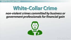 street crime vs white collar crime definitions examples street crime vs white collar crime definitions examples video lesson transcript com
