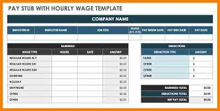 check template 6 payroll check template free pay stub format