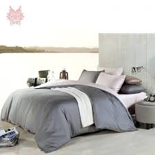 solid gray bedding sets free luxury modal bedding sets fitted solid gray quilt set