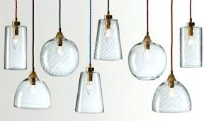 pendant light shades clear glass lamps lampshades designs