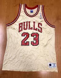 Vintage 1998 Michael Jordan Chicago Bulls Champion Gold