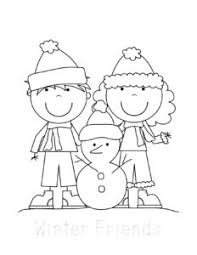Some little kids can't count and always faces difficulty in saying. Free Winter Coloring Pages