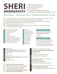 sheri brinkerhoff tips resume