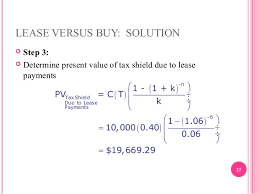 lease or buy calculation leasing chapter19 contemperary financial management
