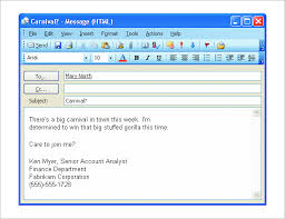 example of email 12 outlook email signature templates samples examples formats