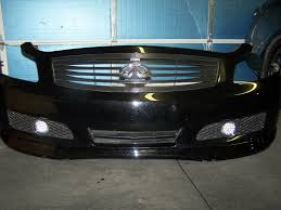 G35 Fog Light Kit Installed Led Fog Lights Drls In Bumper G35driver