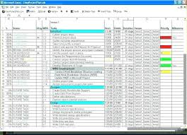 Project Tracking Spreadsheet Excel Free Tracking Projects Excel Template Project Management Excel