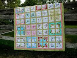 Dirt Cheap Decor!: Hanky Quilt & My mother-in-law gave me the book