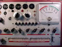 A Recommended List Of Hickok Tube Testers
