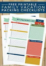 Traveling Check Off List Barca Fontanacountryinn Com