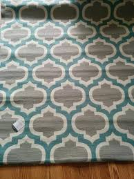 stylish turquoise and gray area rug outstanding rug cute ikea area