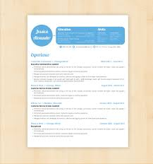 Resume Examples Best 10 Resume Design Templates Free Samples