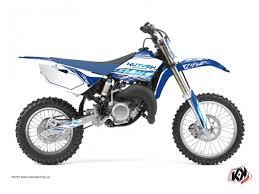 yamaha 85. yamaha 85 yz dirt bike eraser graphic kit blue