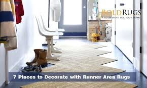 have you ever thought about decorating with a runner area rug these types of rugs are