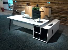 cool things for your office. Evolve Executive Desk With Left Return White Cool Things For Your Office N