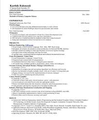 show me resume samples